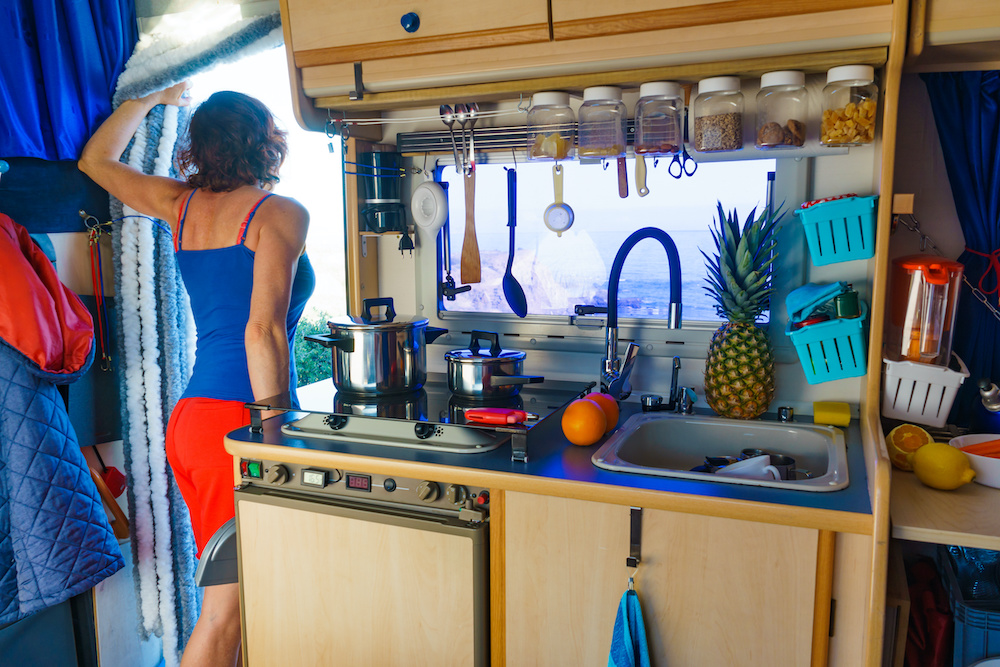 30 Inexpensive and Easy Ways to Organize your RV or Camper